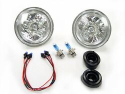 Dot Approved Angel Halo Xenon Hid Look Headlights For 1969-1978 Toyota Corolla