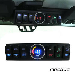 Firebug Jeep JK Switch Control Panel Jeep Control System Jeep Relay Switch