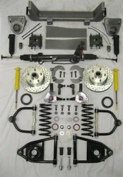 1953 - 1956 Ford F100 Mustang Ii Power Front End Suspension Kit Ifs Stock Height