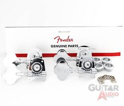 Genuine Fender Mim/mexican Standard And Highway 1 Bass Tuning Machines Keys Tuners