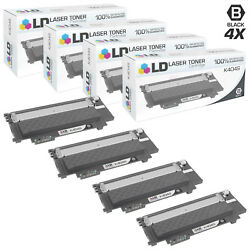 Ld Comp Samsung Cltk404scts Black Toner Set Of 4 For C430, C430w, C480 And C480w