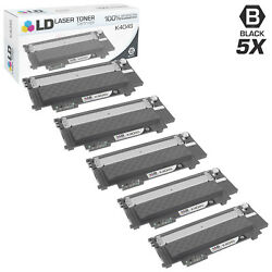 Ld Comp Samsung Cltk404scts Black Toner Set Of 5 For C430, C430w, C480 And C480w
