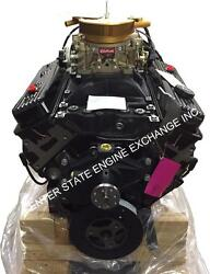 NEW 5.7L GM Marine Extended Base Engine w Carb & Ignition. Mercruiser 1997-up
