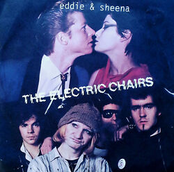 Electric Chairs - Eddie And Sheena B/w Rock And Roll Cleopatra - Safari 45 + Pic.slv