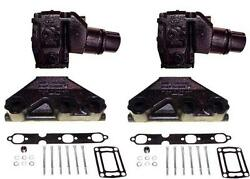 4.3l 262 Volvo Penta/omc Style Exhaust Manifold And Riser Kit. 3847499 3862664
