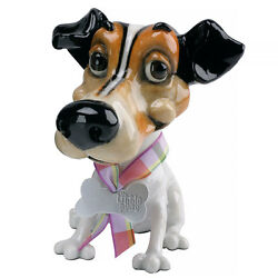 """Little Paws """"Wilf"""" Jack Russell Terrier Dog Figurine 4"""