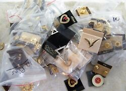 130 Vintage Pins / Brooches Gold Tone / Silver Tone / Etc