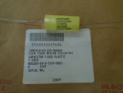 1 Ea Nos Ham. Sund. Plastic Fixed Capacitor For Sikorsky Heli. P/n 729336-041