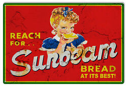 Sunbeam Bread Reproduction Vintage Looking Country Sign 12x18