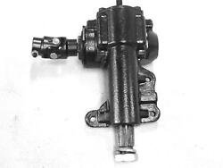 161 Ratio Manual Steering Box 1967 - 1970 Ford Mustang Cougar W Universal Joint