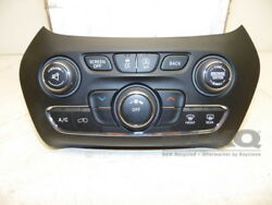15-17 Jeep Cherokee Climate Control AC Heater Automatic W Audio Controls OEM
