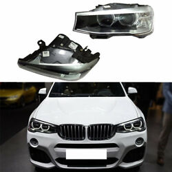 For BMW X3 2014-2016 2pcs Composite Auto Front Headlight Lamp Without Bulbs