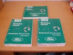 2004 Ford Expedition Lincoln Navigator service shop manual wiring electrical