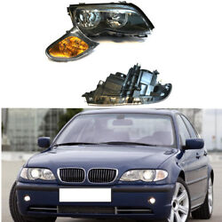 For BMW 3 Series E46 01-04 Auto Front Bumper Headlight Turn Signal Corner Light
