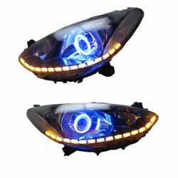 Angel Eye Light Demon Halo Light Bulb Headlight Assembly HID For Mazda 2 2009-14