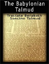 The Babylonian Talmud Tractate Berakoth, Soncino Paperback Or Softback