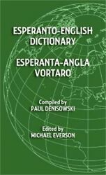 Esperanto-English Dictionary: Esperanta-Angla Vortaro (Hardback or Cased Book)