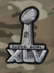Nfl Championship Super Bowl Xlv Superbowl Sb 45 Packers Steelers Iron-on Patch