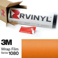 3m 1080 S344 Satin Canyon Copper Vinyl Vehicle Car Wrap Decal Film Sheet Roll