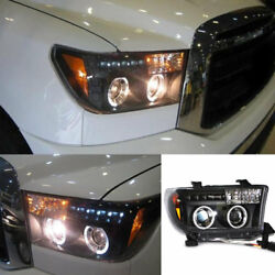 For Toyota Sequoia 2003-2010 Composite Headlamp Turn Signal Lamp High+Low Beam