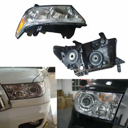 For Toyota Sequoia 2003-2010 Composite Headlight Turn Signal Lamp High+Low Beam