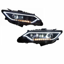 For Toyota Camary 2012-2014 Car 2X Composite Front Headlight Signal HID Assembly
