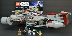 LEGO Star Wars REPUBLIC FRIGATE (7964) with MiniFigures and Instructions!