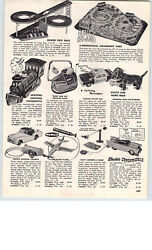1966 Paper Ad Coney Island 3 D Toy Amusment Park Remco Topper Johnny Eagle Rifle
