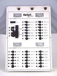 1993- 29and039 Baja Motoryacht Ac/dc Power Breaker Panel Removed From 29and039 Baja Works