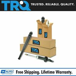 TRQ Front Rear Shock Absorber Driver Passenger Kit 4pc for Ram 1500 Truck 4WD