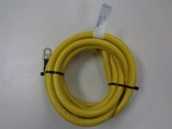 Yellow 1/0 Awg Gauge Engine Ground Electrical Wire 13' Feet Marine Boat