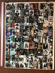 The Beatles Collection Full Uncut Sheet Of 100 Trading Cards By River Group V2