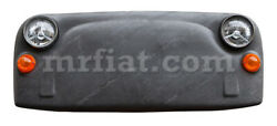 Fiat 500 Front Panel Natural Stone Leaf Slate Covered Car Art New