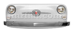 Fiat 500 233 White Colored Front Panel Car Art New