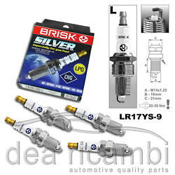 CHEVROLET Spark i 10 B10S 022005-122010 n.4 CANDLES LPG NATURAL GAS LR17YS-9