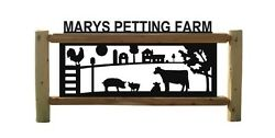 Personalized Signs - Cows -barns - Chickens - Roosters - Farm And Ranch Decor