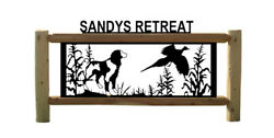 Brittany-spaniel Sign - Pointers - Pheasants Hunting Dogs