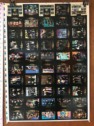 The Beatles Collection Uncut Sheet Of 50 Trading Cards By Sportstime 1996 V1