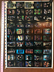 The Beatles Collection Uncut Sheet Of 50 Trading Cards By Sportstime 1996 V2