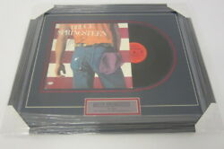 Bruce Springsteen Born In The Usa Signed Autographed Framed Promo Record Album