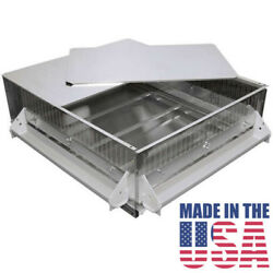 Brooder Gqf 0534 Universal Heated Box Brooder Chicks Chickens - Made In The Usa