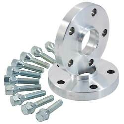 Hubcentric Alloy Wheel Spacers 15mm VW Scirocco GT R TSI 5x100  5x112 57.1mm