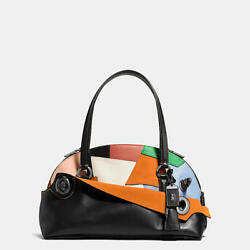 New Coach_Limited Edition 1941 Outlaw Satchel_38287_Patchwork Leather Bag
