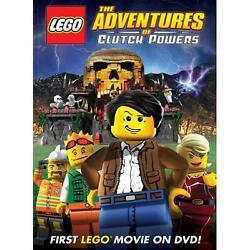 NEW DVD LEGO The Adventures of Clutch Powers  Factory Sealed  Free Shipping !