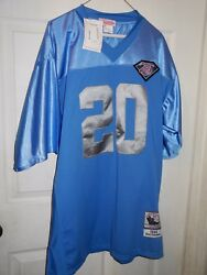 New Mitchell And Ness 1994 Barry Sanders Detroit Lions Jersey Throwback Size 52