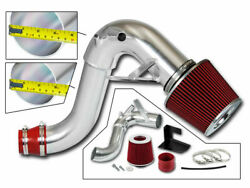 Bcp Red For 11-14 Sonata 2.0l L4 Turbo Heat Shield Cold Air Intake Kit +filter