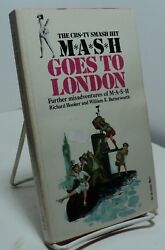 Mash Goes To London By R Hooker And W E Butterworth - Mash