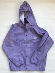 Abeko In All Weather Raincoat and Bottoms with Suspenders Girls Size 120 EUC