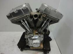 Harley Davidson Twin Cam 88 1450 A ENGINE MOTOR (1999-2004 CASES HEAD) 2000 CARB