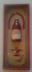 Vintage Collectible Budweiser 12 Ounce Bottle Wall Hanging
